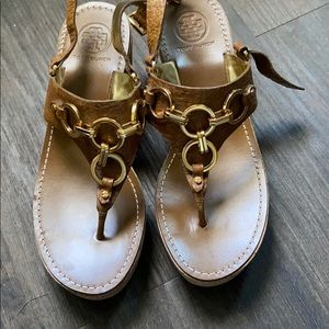 Tory Burch | Wedge Sandals | Size 8.5